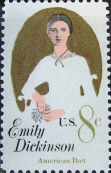 Briefmarke Emily Dickinson, USA 1971