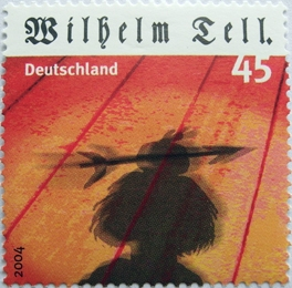 Briefmarke Wilhelm Tell, BRD 2004